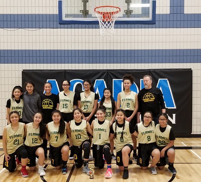 Congrats To The Sargent Park Flames Grade 9 Girls Champions At The Acadia Tournament Basketball Nc State Basketball Basketball Court