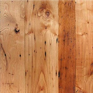 Wormy Chestnut Wood Countertops by Grothouse