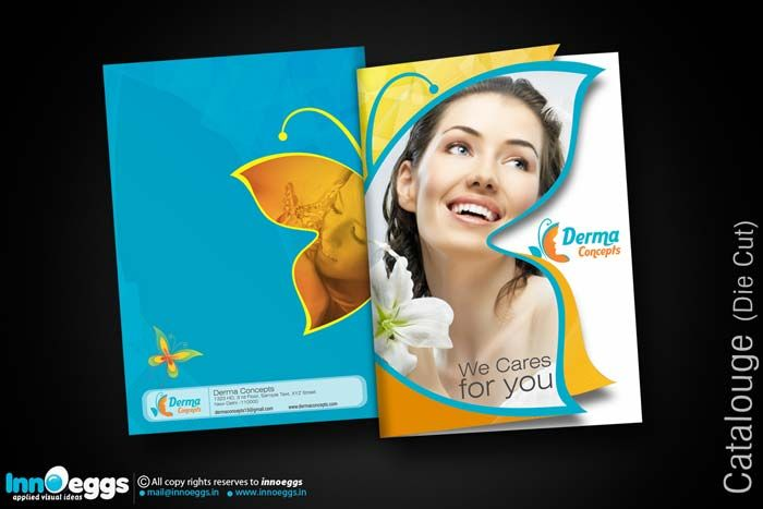 Die cut-Brochure
