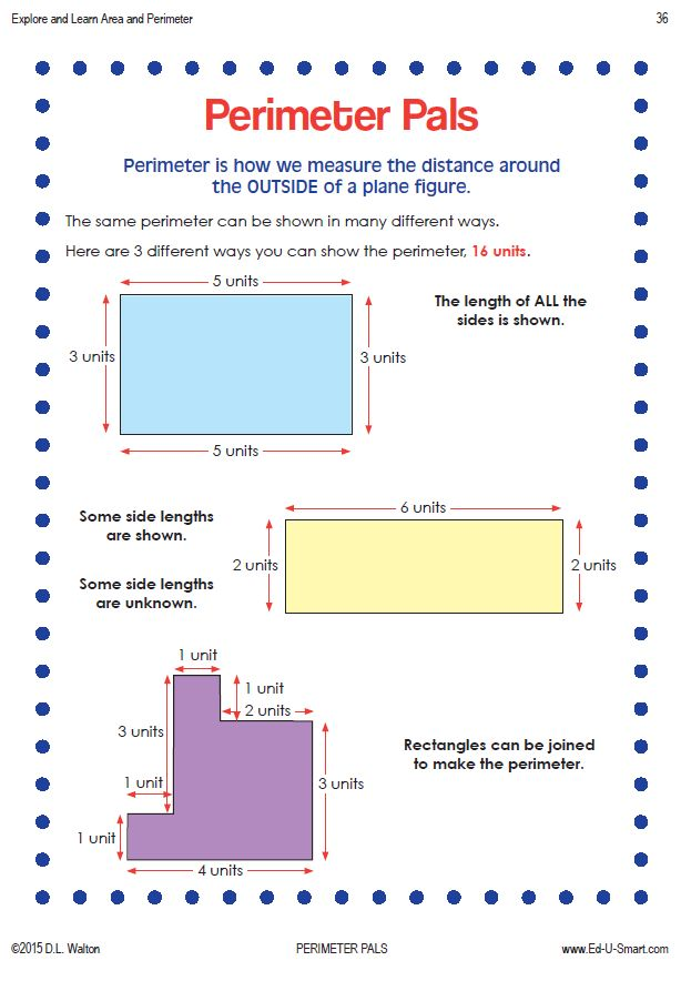 11 best 3rd Grade Area and Perimeter Math Activities images on ...