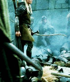 so I am pretty sure that's what you call a legolas strut