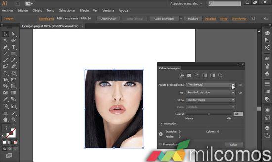 Vectorizar una imagen en Illustrator