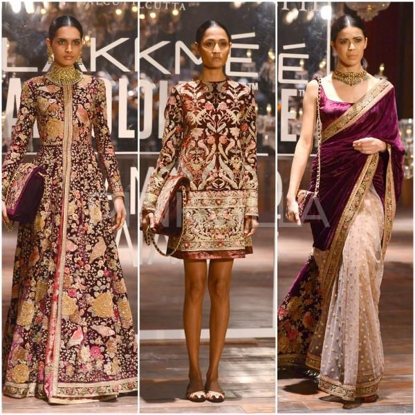 Runway Report : Sabyasachi's collection for Lakme Fashion Week Grand Finale…