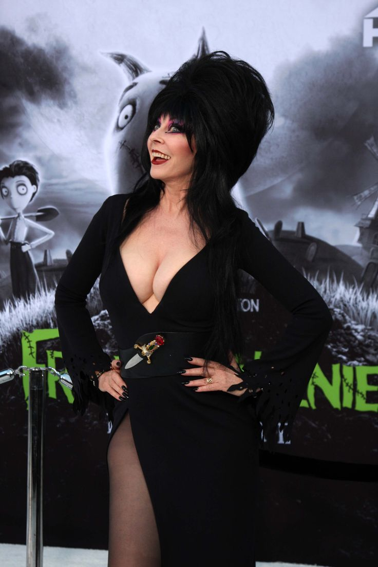 "Hot actress Cassandra Peterson at at the ""Frankenweenie"" Los Angeles Premiere"