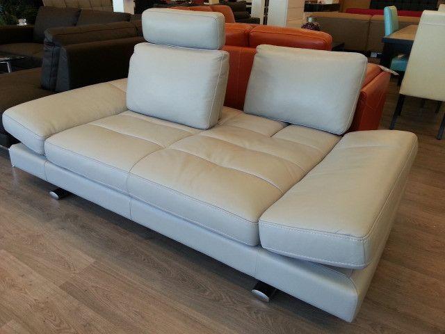 #1372 Kuka Full Leather Collection. Modern FurnitureSofa
