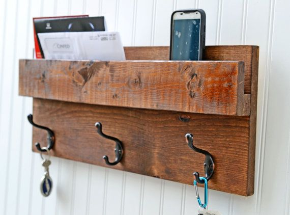 Hey, I found this really awesome Etsy listing at https://www.etsy.com/listing/242521216/3-hook-coat-rack-walll-organizer-storage