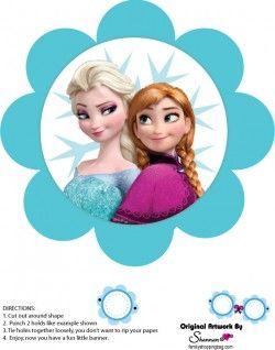{free} printable Frozen Banner