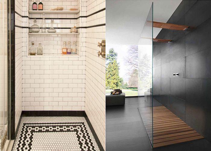 Impressive Shower Floor Ideas Hunker 1000 In 2020 Shower Floor Flooring Cheap Hardwood Floors