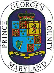 [County Seal, Prince George's County, Maryland]Origin: Prince George's was erected from Calvert and Charles counties in 1695 (Chapter 13, Acts of 1695, May Session). The County was named for Prince George of Denmark (1653-1708), who was the brother of Christian V (1646-1699), king of Denmark and Norway. Prince George was the husband of Queen Anne (1665-1714), who ruled Great Britain and Ireland from 1702 to 1714.