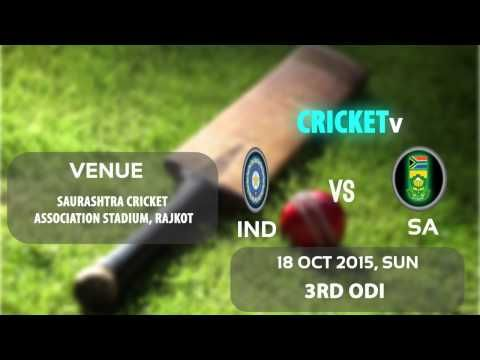 https://www.youtube.com/watch?v=yuOR7onN43k South Africa Tour of India Schedule and Venues
