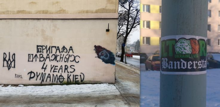 Do naklejek mieli przyznać się ukraińscy studenci