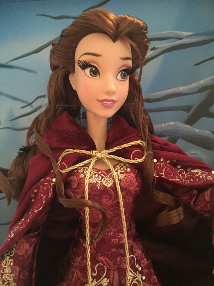 Belle limited edition Disney 17 inch doll Beauty and the Beast | eBay