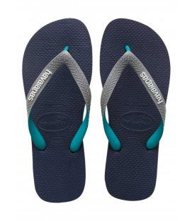 Havaianas Mens Top Mix Navy Grey Green