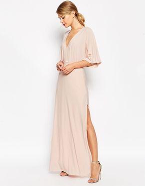 ASOS Kimono Plunge Maxi Dress