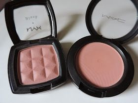 Simple Charm Beauty: MAC Melba Powder Blush + Dupe?