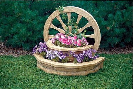 Wooden Lawn Furniture Planters Yutzy S Farm Market