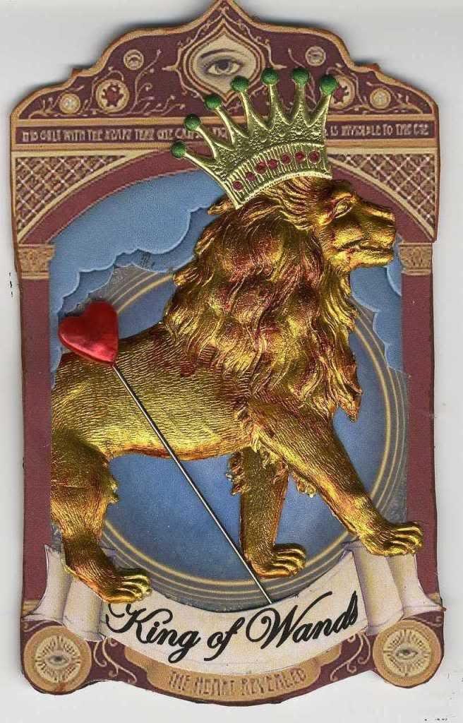 Tarot Musings Using Tarot Reversals: 72 Best King Of Wands Leo Images On Pinterest