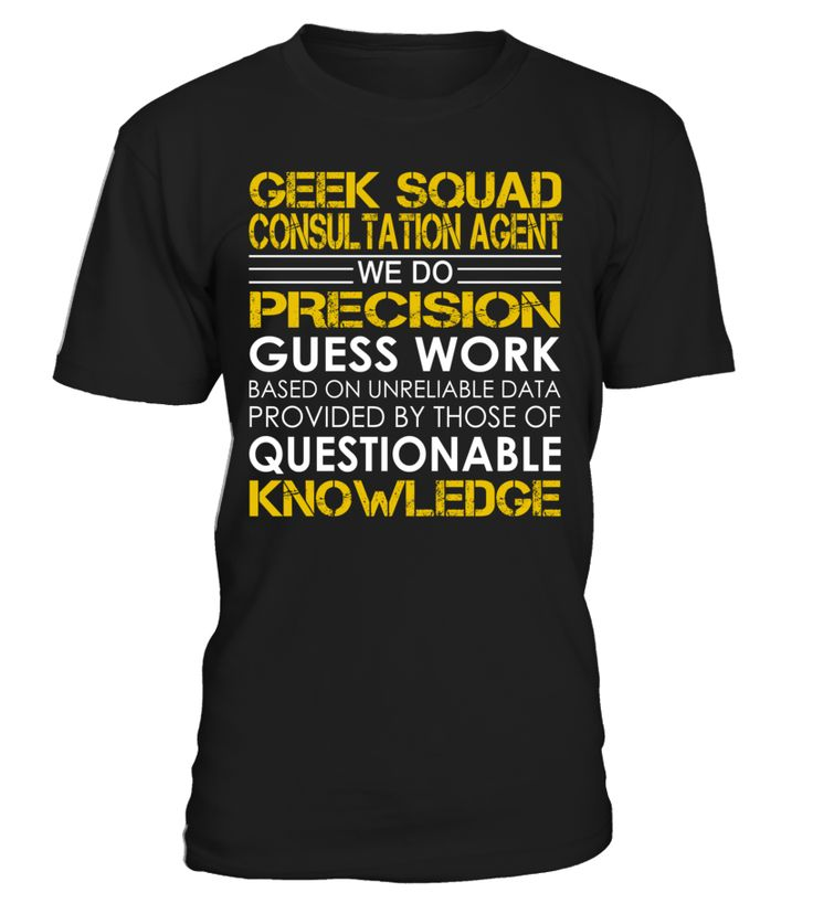 Geek Squad Consultation Agent - We Do Precision Guess Work