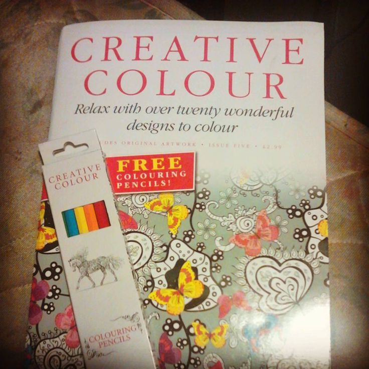 Just got a new coloring book, it's got 24 pages to colour in and a monthly for 2.99 at the shop so it won't break the bank. #arttherapy #art #colouring #coloringforadults #therapy #coloringfun
