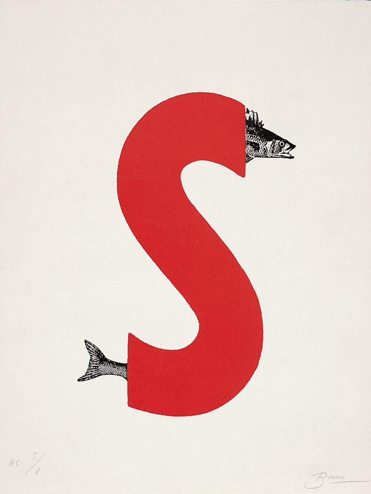 S de Joan Brossa. poeta visual #design