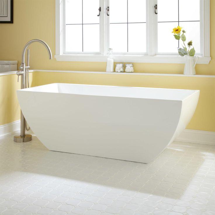 Natalie Acrylic Footed Tub