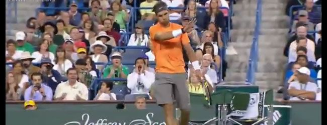 """La habilidad para convertir una situación defensiva en una ofensiva es lo que caracteriza al """"mejor arcillista en la historia del tenis"""",  Rafael Nadal."""