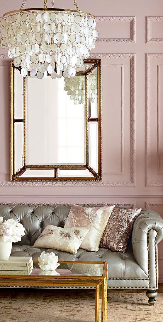 Pariser Flair in Rosa und Silber.