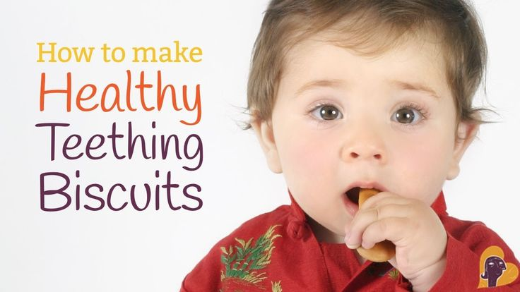 Homemade teething biscuits …