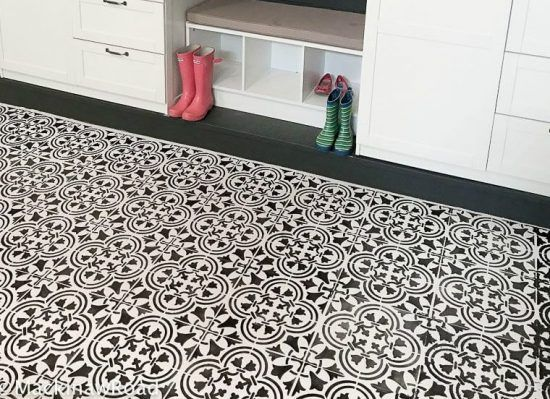 367 Best Stenciled Painted Floors Images On Pinterest