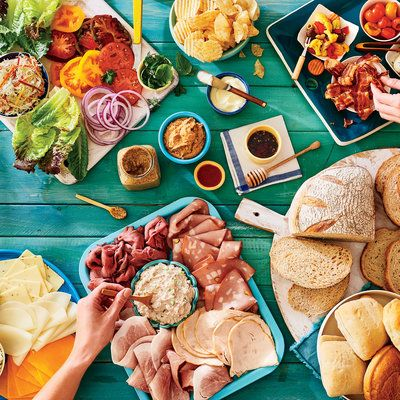 10 Ways to Feed a Weekend Beach Crowd: Craft a Midday Sandwich Buffet