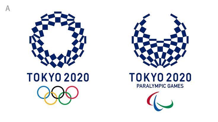 Tokyo 2020 Olympics organizers on Monday chose logo A — a stark indigo-and-white checkered circle — as the games' replacement emblem after the original design was scrapped last year amid claims of plagiarism.