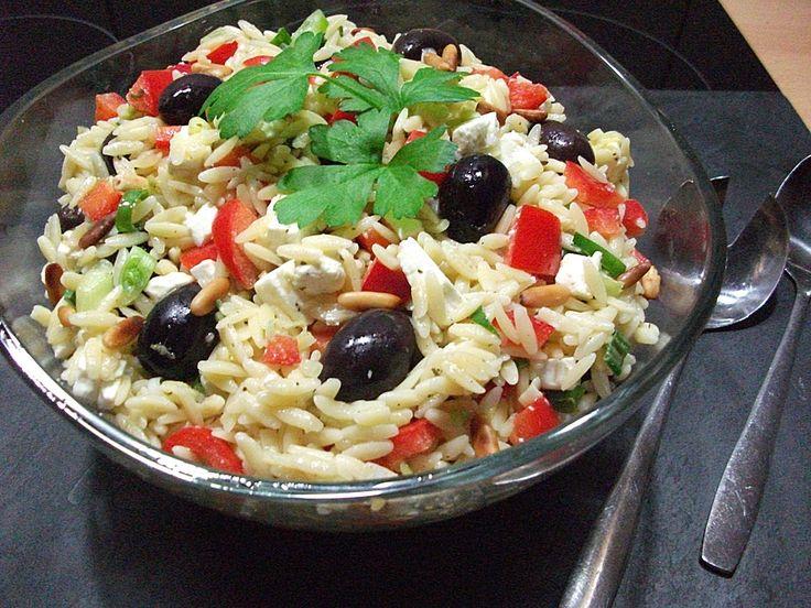 Chefkoch.de Rezept: Griechischer Kritharaki Salat