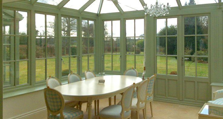 Conservatory Interior - Green by www.everittandjones.co.uk