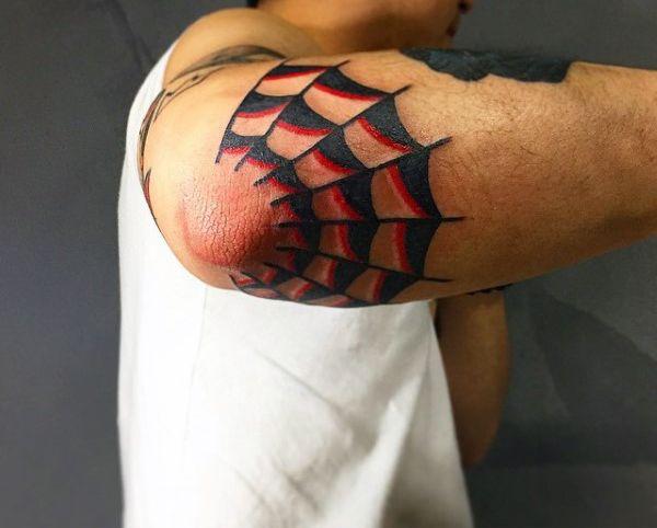 80 Tatuaje de tela de araña diseños para los hombres - Enredadas ideas de patrón - http://tatuajeclub.com/2016/06/05/80-tatuaje-de-tela-de-arana-disenos-para-los-hombres-enredadas-ideas-de-patron.html