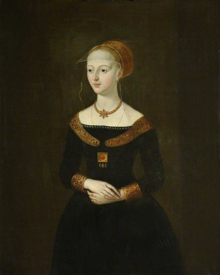 Elizabeth Woodville, Queen of Edward IV, Queen's College Cambridge, Portrait.