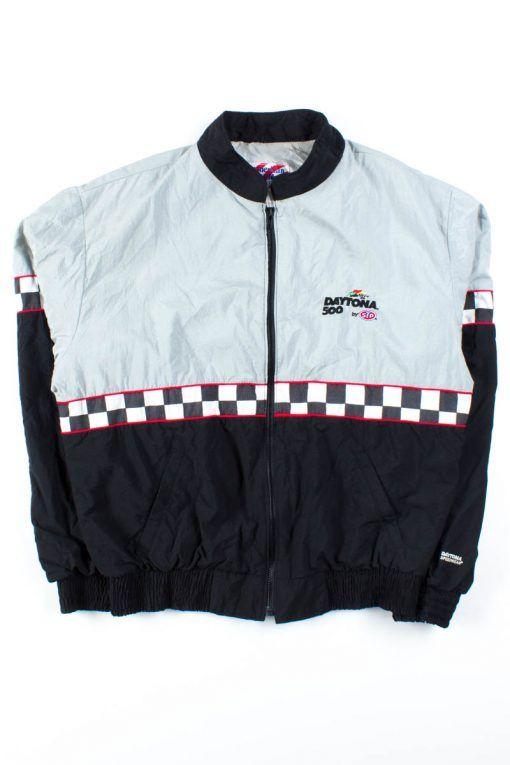 2fe57206a Fresh stock of 90s vintage jackets are online! Like this Daytona 500  windbreaker!