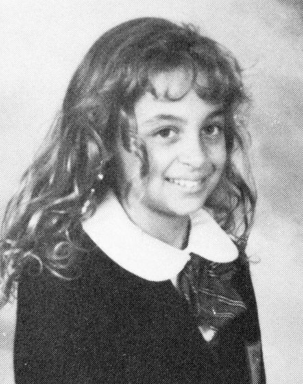 Lea Michele Tenafly High School graduation pic, NJ ...