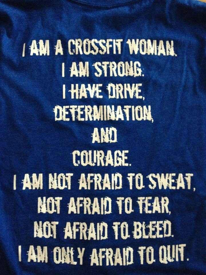 Crossfit Fitness Quotes