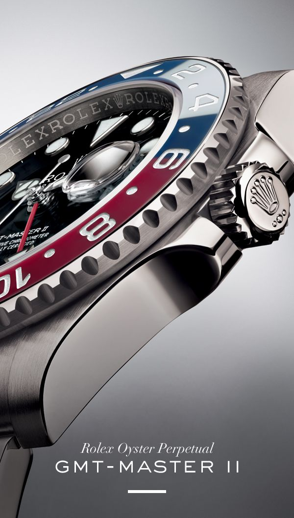 The new Rolex GMT-Master. #RolexOfficial #Baselworld. Available at Hingham Jewelers!