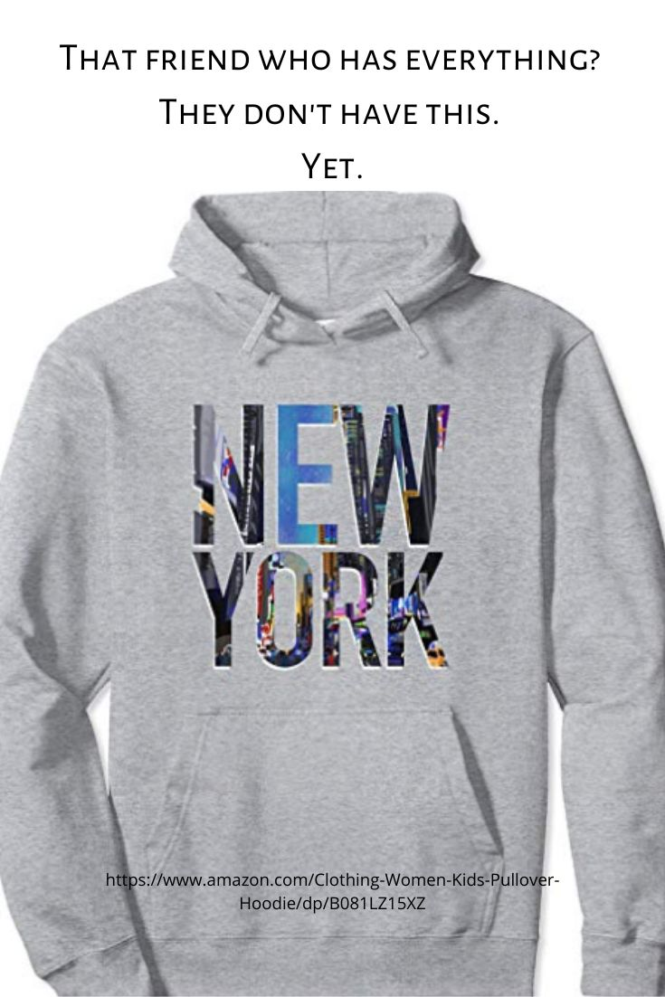 New York Hoodie & Shirts. Great Gift Idea Under 40