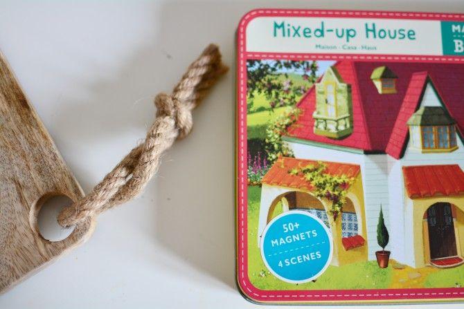 Zabawki wspomagające rozwój mowy- Mixed-up House