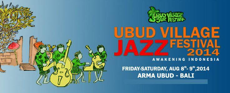 "LET'S COME !! ""Ubud Village Jazz Festival 2014"" presented by @UbudVillageJazz"