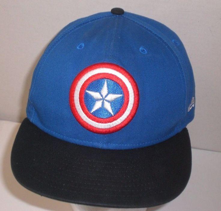 captain america shield baseball cap marvel avengers hat new era rare civil war