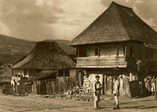 romanian peasants traditional houses romanians