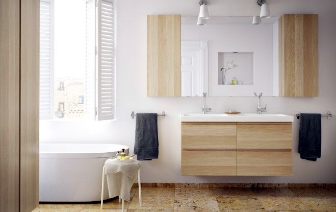 Stylish Vanity and Sink Consoles from IKEA- Bathroom vanities and sink consoles are the focal point for any bathroom and its important that you choose  console which compliments best to your bathroom