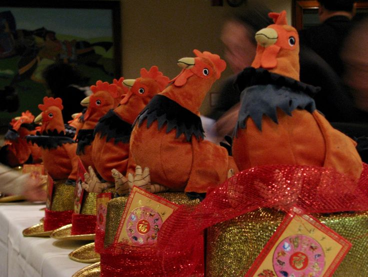 This hat is something to crow about. To be worn by parade marshals at the Chinese New Years Parade this Sunday, January 29th.