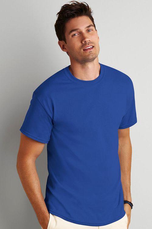 Tricou de bărbați DryBlend® Gildan din 50% poliester şi 50% bumbac care nu se strânge (Jersey) #tricouri #personalizate #gildan #tricouribodate #tricouriimprimate
