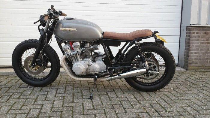 1983 Cb750f Brat Style The Bike Shed Moto Pinterest