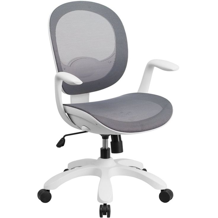 Southport Mesh White Frame Ergonomic Computer Chair   Mesh ...