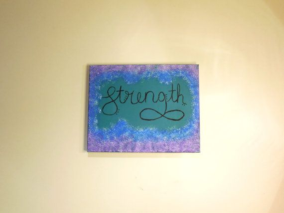 Strength Painted Canvas